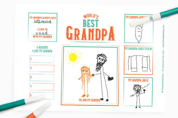 Father's day: All about grandpa