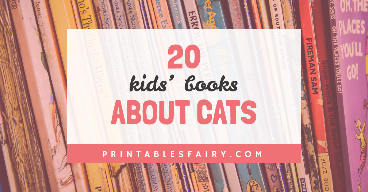 Books about cats for kids