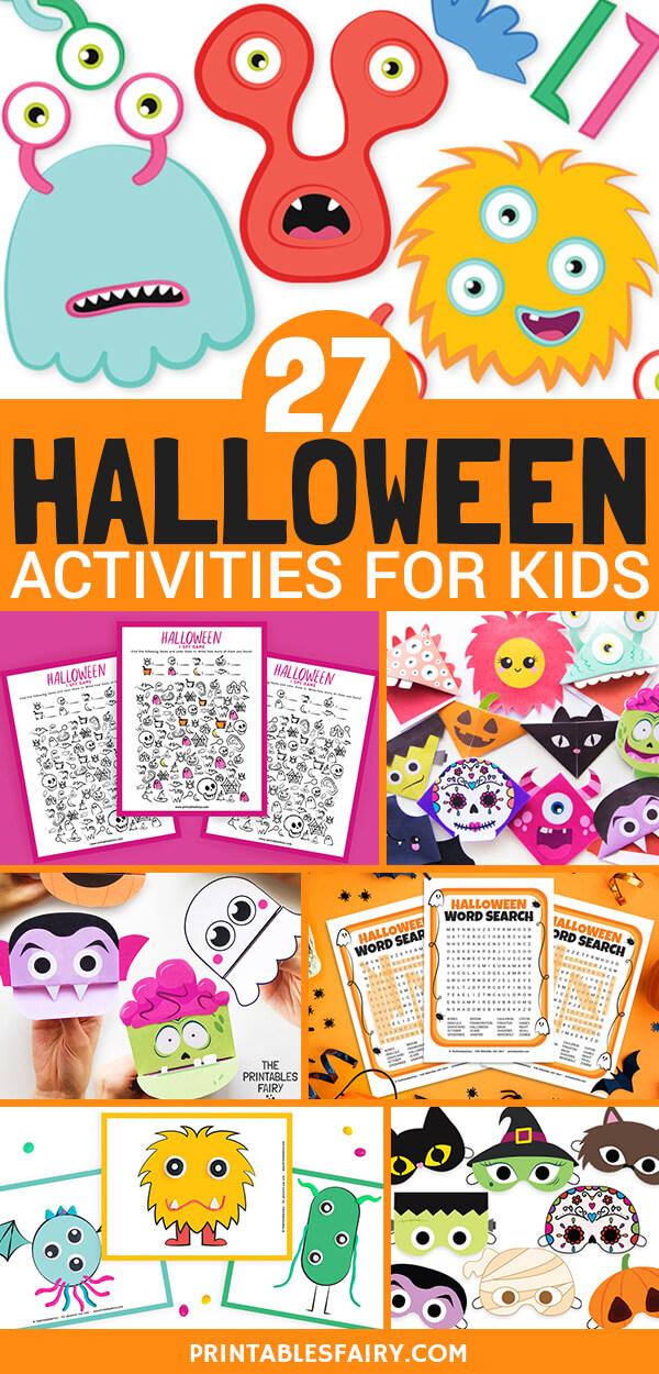 27 Halloween Activities for Kids