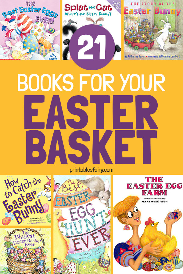 21 Books for your Easter basket