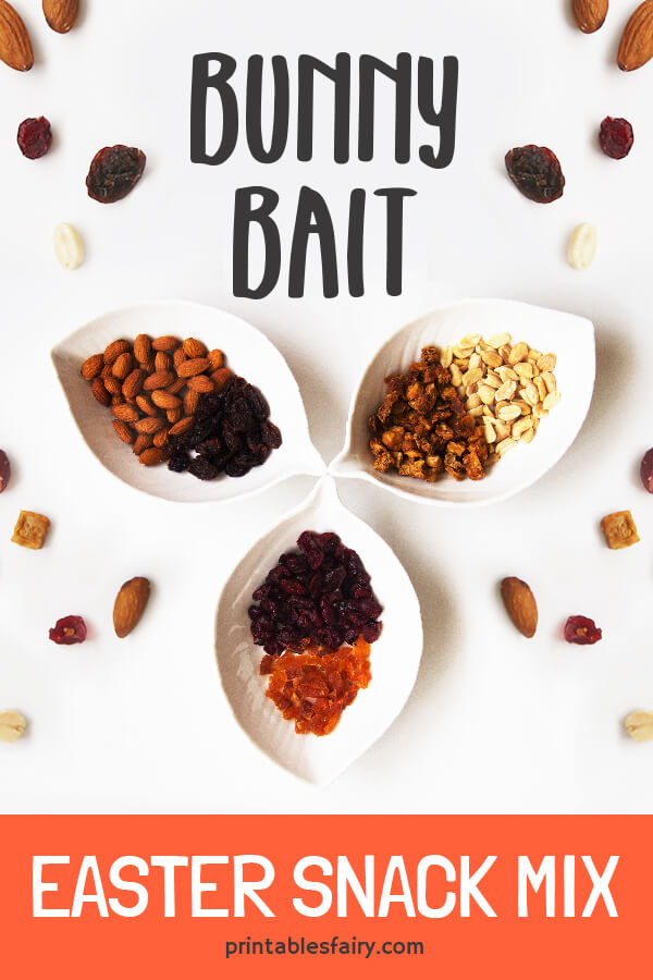 Bunny Bait - Healthy Easter Snack Mix