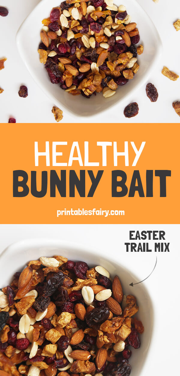 Healthy Bunny Bait For Easter