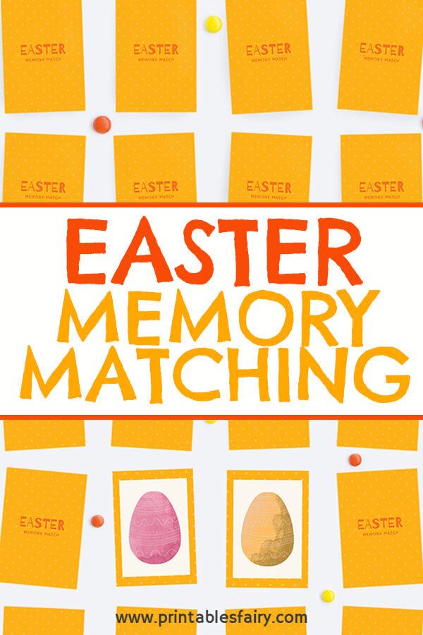 Easter Memory Game For Children