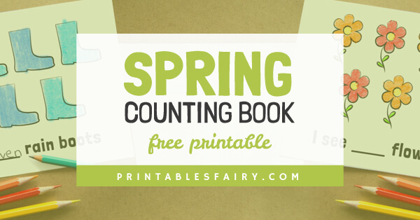 Spring Counting Booklet