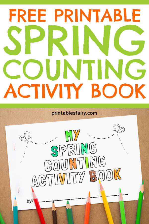 Spring Counting Book for Kids