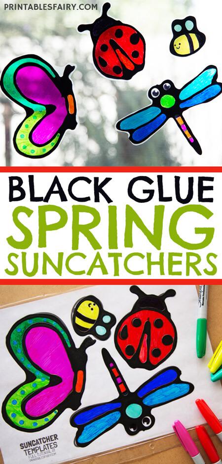 Spring Suncatchers for Kids