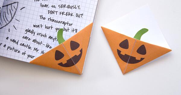 Jack O'Lantern Bookmarks