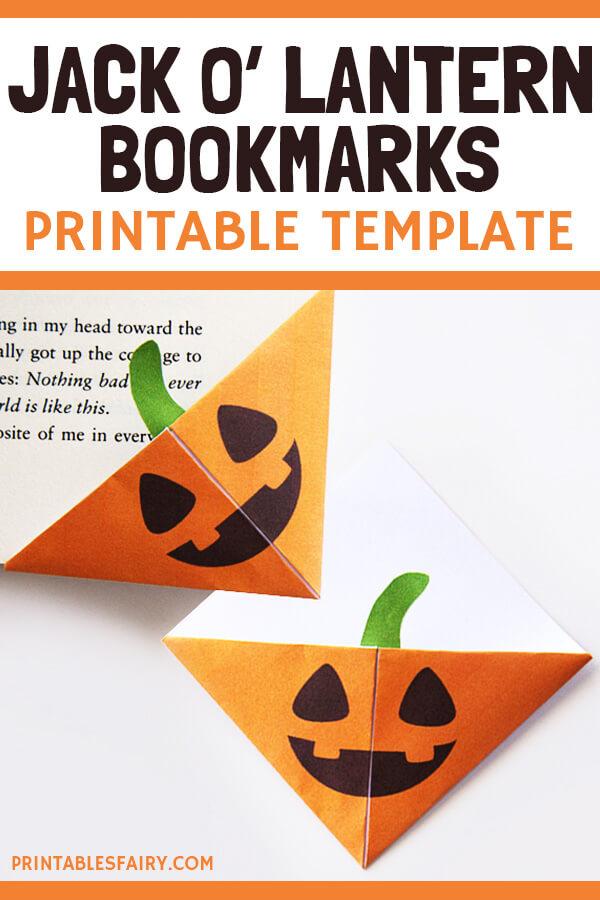 Jack O' lantern Printable Template