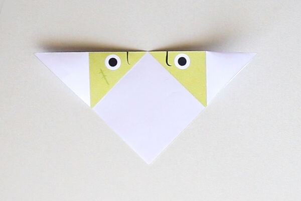 Fold over to make a triangle