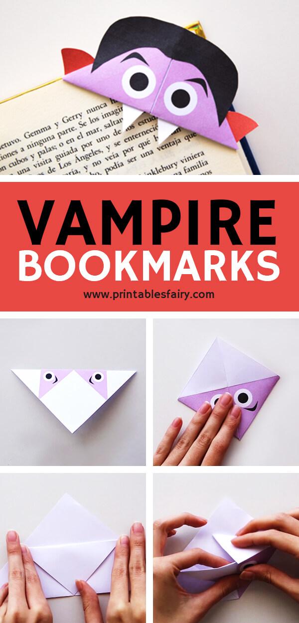Vampire Corner Bookmark