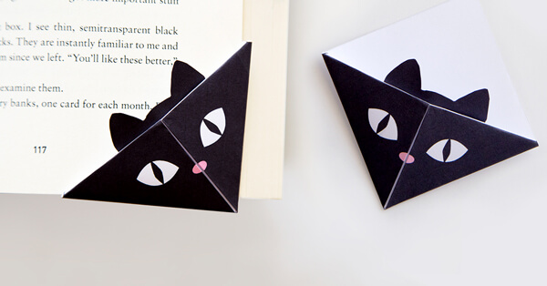Cat Corner Bookmarks
