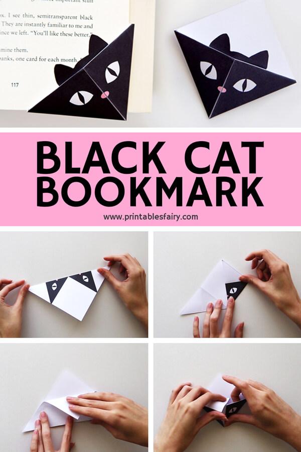 DIY Cat Bookmarks