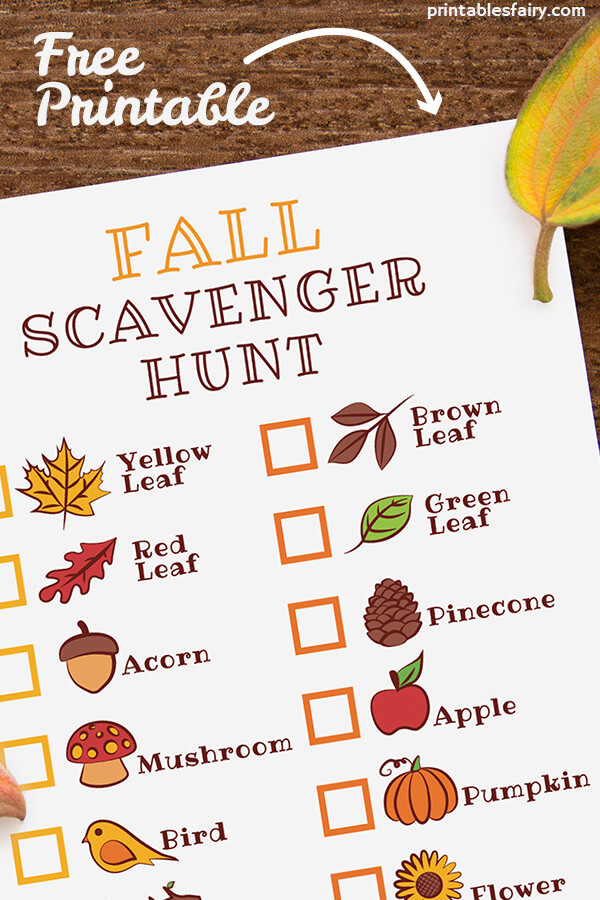 Autumn Scavenger Hunt