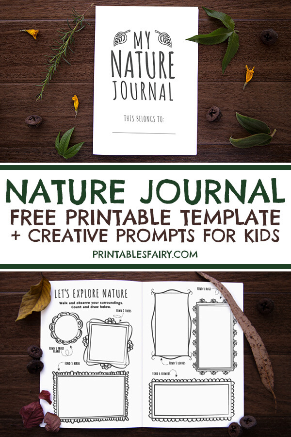 Free Printable Nature Journal Template