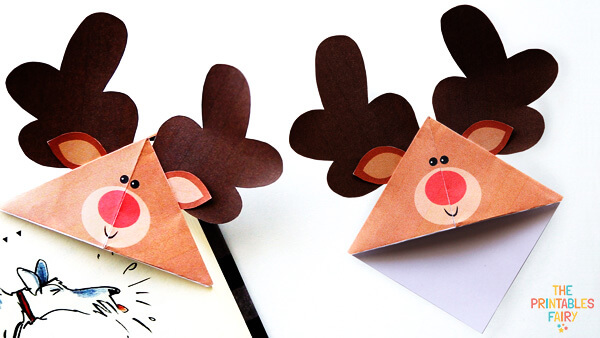 Reindeer Corner Bookmarks