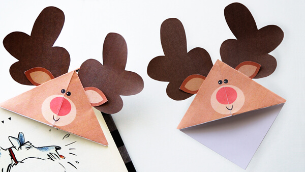 Reindeer Corner Bookmarks