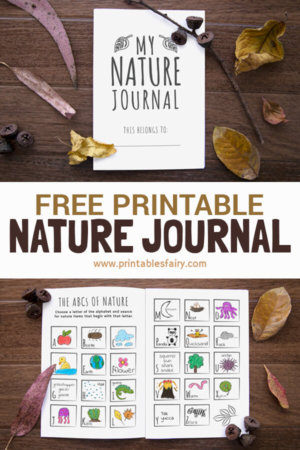 Printable Nature Journal