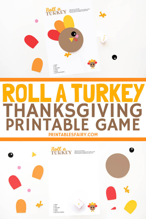 Thanksgiving game: Roll a turkey