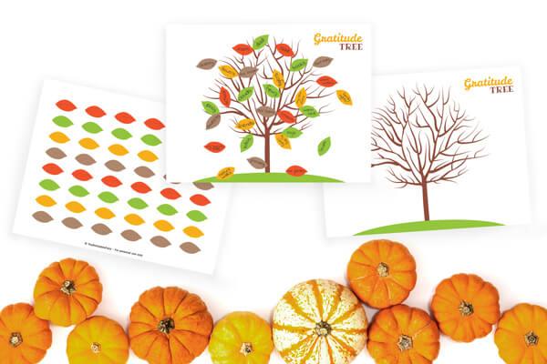 Printable Gratitude Tree