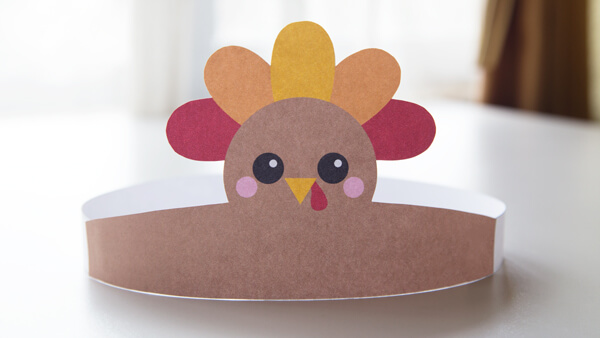 DIY Turkey Hat