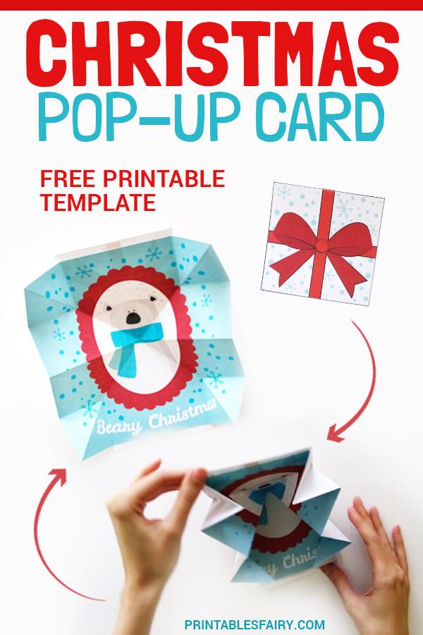 How to make a Christmas pop-up card