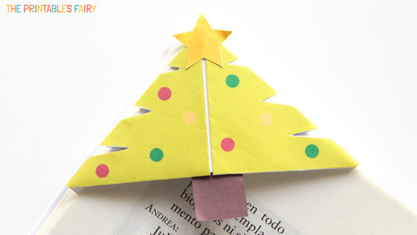 Christmas Tree Corner Bookmark