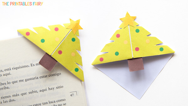 Christmas Tree Corner Bookmarks