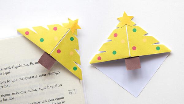 Christmas Tree Corner Bookmarks