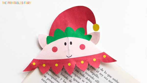 DIY Elf Bookmark