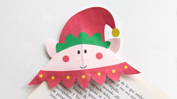 DIY Elf Bookmark