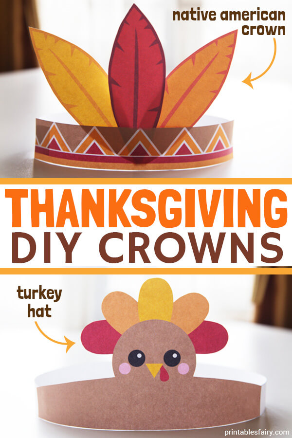 DIY Thanksgiving Hats