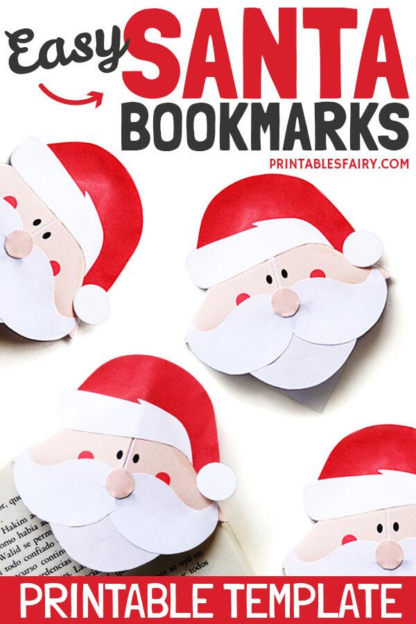 Santa Bookmarks