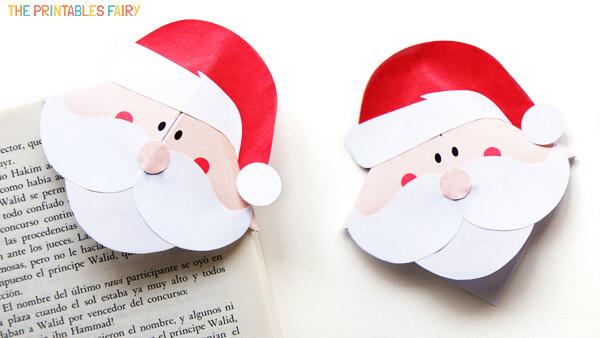 Santa Corner Bookmarks