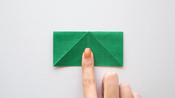 Fold into a rectangle
