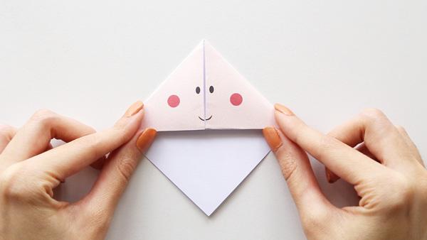 Flatten bookmark