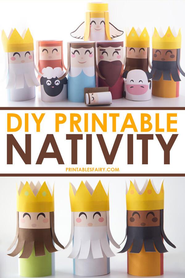 How to make a DIY Nativity Scene