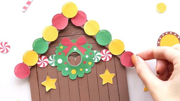Glue ornaments