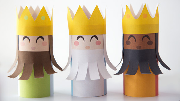 Three Wise Men puppets