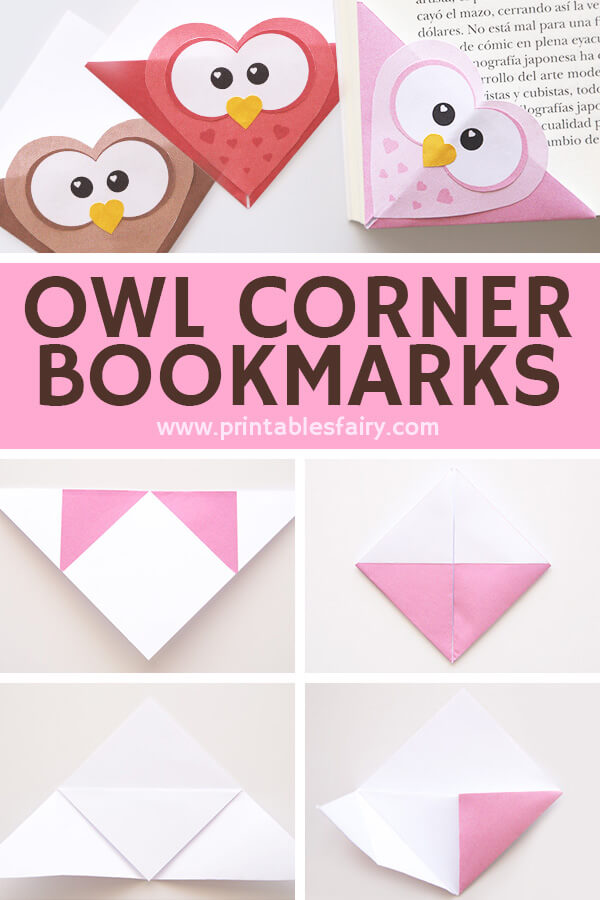 Owl Corner Bookmarks