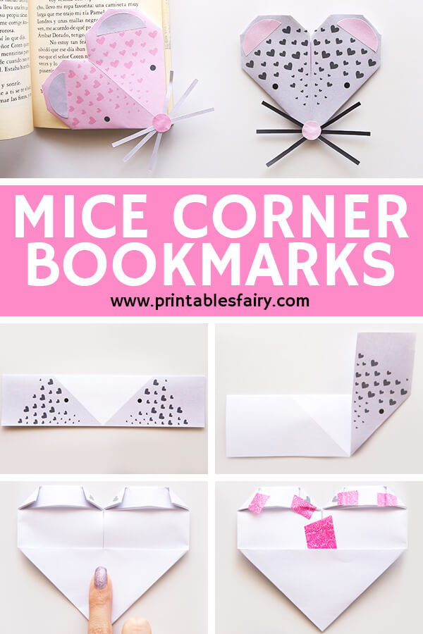 Mice Corner Bookmarks