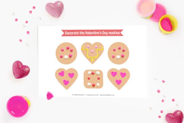 Cookies Play Dough Mat