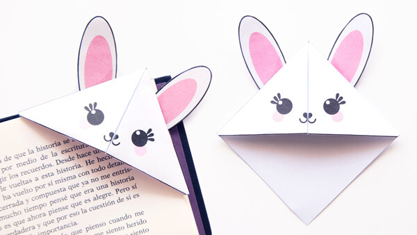 Bunny Corner Bookmarks