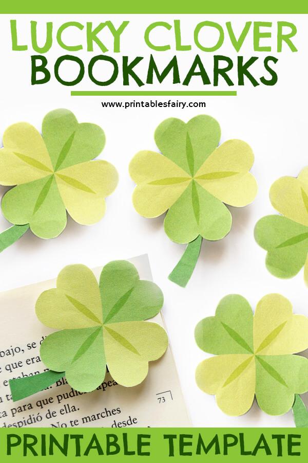 Shamrock Corner Bookmark