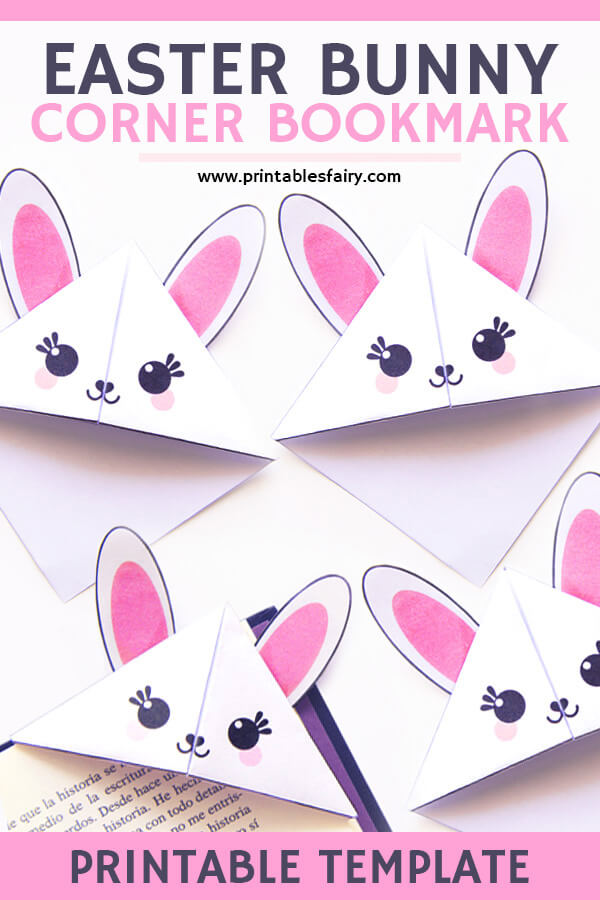 Easter Bunny Bookmarks