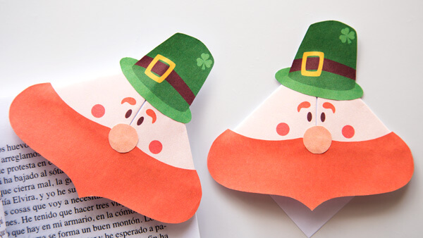 Leprechaun Corner Bookmark