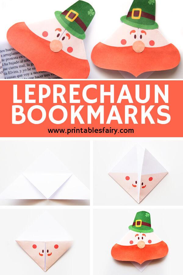 St Patrick's Leprechaun Bookmarks