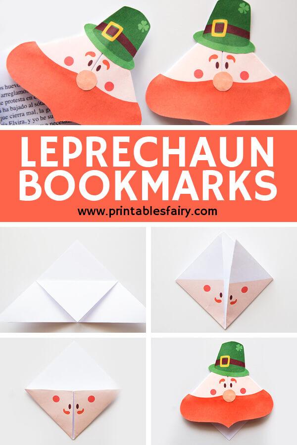 St. Patrick's leprechaun Bookmarks