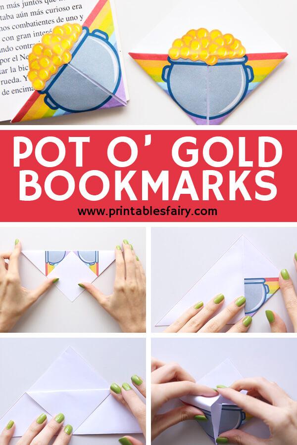 Pot O' Gold Bookmarks