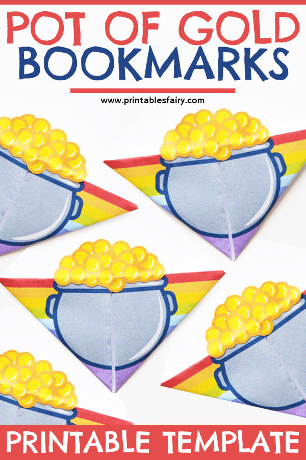 Pot of Gold Bookmarks