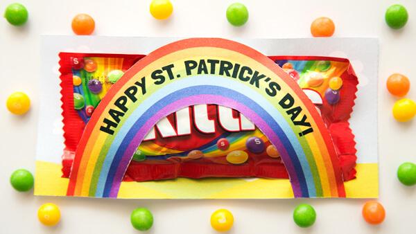 Rainbow Skittles Treat Bag